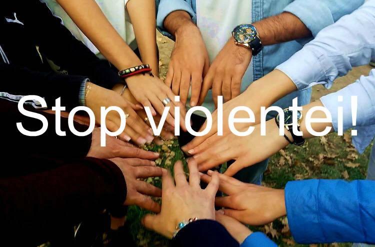 Spune NU VIOLENȚEI!